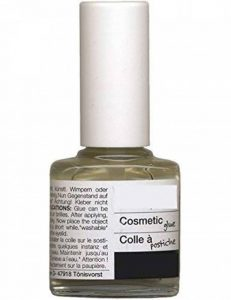 Colle pour postiches flacon avec pinceau 7 ml [1-2502-00] de la marque Hesse und Voormann image 0 produit