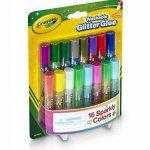 Crayola - 69-4200-E-000 - Loisir Créatif - 16 Mini Colles Pailletées Lavables de la marque Crayola image 3 produit