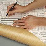 d-c-fix® Sticky Back Plastic (self adhesive vinyl film) Woodgrain Oak Santana Lime 67.5cm x 2m 346-8087 by d-c-fix® de la marque d-c-fix® image 1 produit