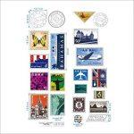 DecalMile Timbre Tour Eiffel Big Ben Stickers Muraux Amovible Vinyle Autocollant Stickers Pour Le Salon Chambre de la marque DecalMile image 3 produit