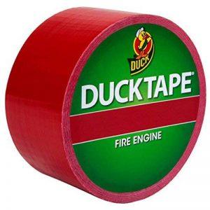Duck Tape Ruban Adhésif de Masquage Couleurs Rouge Pompiers 48 mm x 9.1m de la marque Duck Tape image 0 produit