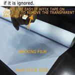 DuoFire Film pour Fenêtre Intimité Film pour Vitre Fenêtre Décoratif Film pour fenêtre Electrostatique Autocollant de Fenêtre Film Anti-UV (60cm X 200cm, DP040) de la marque DuoFire image 1 produit