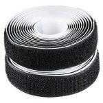 EDGEAM Bandes scratch adhésif Hook Loop Autocollante 20mm large (2 Meters, Noir) de la marque EDGEAM image 1 produit