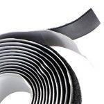 EDGEAM Bandes scratch adhésif Hook Loop Autocollante 20mm large (2 Meters, Noir) de la marque EDGEAM image 3 produit