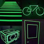 EEFUN Glow in the Dark Tape, Vert Lumineux Ruban Adhésif Autocollant, Ruban Adhésif Phosphorescent: Fluorescente Nuit Autocollant, Amovible, Imperméable à L'eau, Photoluminescent, 3m x 5cm (Vert) de la marque EEFUN image 3 produit