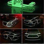 EEFUN Glow in the Dark Tape, Vert Lumineux Ruban Adhésif Autocollant, Ruban Adhésif Phosphorescent: Fluorescente Nuit Autocollant, Amovible, Imperméable à L'eau, Photoluminescent, 10m x 2cm (Vert) de la marque EEFUN image 4 produit