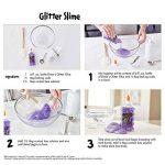 Elmer's Pailletées lavable, bouteilles de 6 oz, 6-tasser, vert/rose/violet/rouge/jaune/bleu de la marque Elmer's image 3 produit