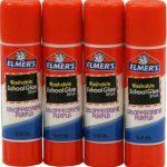 Elmers/X-Acto lavable Bâtons de colle d'école, Multicolore, 1.9x 11.43x 15.24cm de la marque Elmers/X-Acto image 1 produit