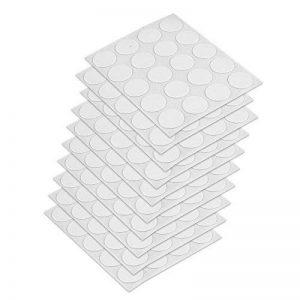 EMUCA 4026415 Cache couvre vis adhésif, Blanc, Ø 13 mm, Set de 200 Pièces de la marque Emuca image 0 produit