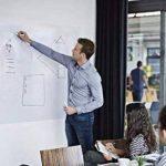 FANCY-FIX Tableau Blanc Adroise Autocollant adhésif Effaçable Mural Whiteboard pour maison Bureau École 60 x 90cm de la marque fancy-fix image 1 produit