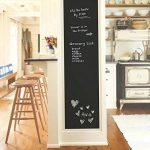 Fancy-fix Vinyle Tableau Autocollant Ardoise 43cm x 200cm Effaçable Sticker Mural Adhésif pour Bureau Maison École, Noir de la marque fancy-fix image 3 produit