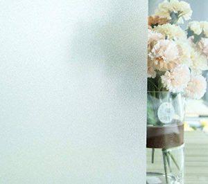 Film Fenêtre Stickers Electrostatique Opaque Dépoli Film 60*200CM UV Protection Verre Mate pour Maison Salle Bain Chambre Cuisine Bureau de la marque SHENTANG EU image 0 produit