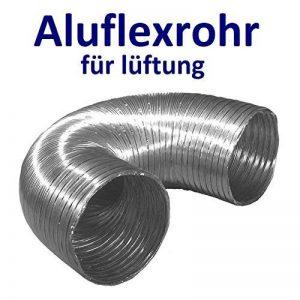 Flexible luftleitungen en aluminium pour. Tube flexible en aluminium Flex Tuyau flexible en aluminium Flex Tuyau d'aération flexible Longueur de 30à 270cm Résiste à la chaleur jusqu'à 300°C. Ø 80100125150mm de la marque MM TECHNIK image 0 produit