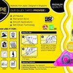 Fullmark Adhésif permanent/Colle roller, 6 mm x 18 m chaque, rose, pack de 5 de la marque Fullmark image 3 produit