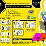 Fullmark Adhésif Permanent/Roller de Colle- 5 pièces 6 mm x 18 m de la marque Fullmark image 3 produit