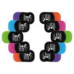 Fullmark Adhésif Permanent/Roller de colle, 6 mm x 6 m chaque, couleurs assorties, pack de 10 de la marque Fullmark image 3 produit