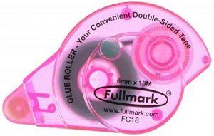 fullmark colle à ruban permanent, 3pièces, 6mm x 18m, rose de la marque Fullmark image 0 produit