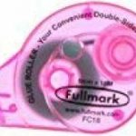 fullmark colle à ruban permanent, 3pièces, 6mm x 18m, rose de la marque Fullmark image 1 produit