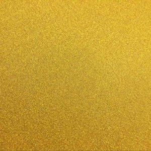 Gnognauq 10 feuilles Grand 30 x 30 cm Paillettes d'doré Autocollant auto-adhésif Papier collant arrière Artisanat scintillant signe de bricolage de couleur métallique de signe de bricolage, Papier auto-adhésif de papier autocollant de paillettes de la mar image 0 produit