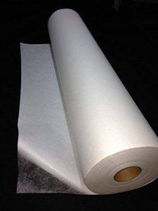 Générique APPLIQUE COLLE double face AU METRE Voile thermocollant avec support papier double face largeur 75 cm de la marque Générique image 0 produit