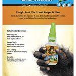 Gorilla Super Glue Gel, 7600101-2 de la marque Gorilla image 2 produit
