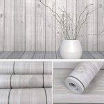 Grain de bois décoratifs Contact papier autocollant Shelf Liner Peel et bâton papier peint haute qualité pour meuble de cuisine Countertop étagères projets d'artisanat 45x 199,9cm de la marque Glow4U image 3 produit