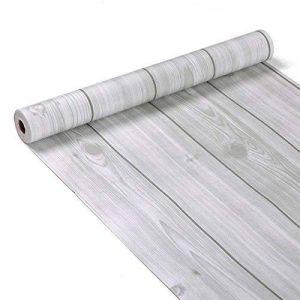 Grain de bois décoratifs Contact papier autocollant Shelf Liner Peel et bâton papier peint haute qualité pour meuble de cuisine Countertop étagères projets d'artisanat 45x 199,9cm de la marque Glow4U image 0 produit