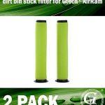 Green Label Lot DE 2La saleté Poubelle UHU Filtre pour Gtech Airram MK2K9sans Fil aspirateurs de la marque Green-Label image 1 produit