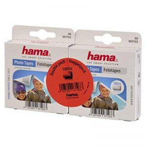 Hama Distributeur Pastilles Photo (1000 Pastilles, autocollantes Double-face, Distributeur, Sans Acide, Sans Solvant, Adapté Albums) de la marque Hama image 0 produit