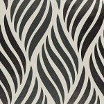 HANMERO Papier Peint Adhésif Autocollant-2m*0.45m-Vintage Trompe l'oeil Motif de Feuille Vinyle PVC pour Cuisine Meuble Placard Table Effet 3D Sticker Mural, Noir et Blanc de la marque HANMERO image 1 produit