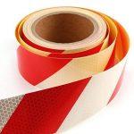 Haute intensité DIY Décorer d'avertissement de sécurité réfléchissant bande de rouleau de ruban adhésif en vinyle de la marque surepromise image 2 produit