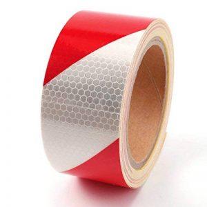 Haute intensité DIY Décorer d'avertissement de sécurité réfléchissant bande de rouleau de ruban adhésif en vinyle de la marque surepromise image 0 produit