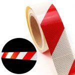 Haute intensité DIY Décorer d'avertissement de sécurité réfléchissant bande de rouleau de ruban adhésif en vinyle de la marque surepromise image 5 produit