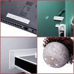 HBlife 316 PCS Pare - Chocs de Porte Pieds en Silicone Transparente Adhésifs Butées pour Meuble Protecteurs Muraux en Caoutchouc de 8 Tailles Protection pour Meubles de la marque HBlife image 4 produit