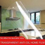 Hoho transparente brillant Scratch film de protection 2mil meubles Autocollant de protection anti Huile de cuisine Maison Décoration (152cmx50cm) de la marque HOHO image 4 produit