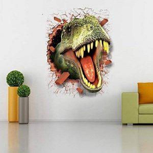 HOOLEE 50 * 70 cm Stickers muraux de Dinosaure 3D Autocollant de Maison Décoration créative Sticker animal de la marque HOOLEE image 0 produit
