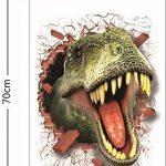 HOOLEE 50 * 70 cm Stickers muraux de Dinosaure 3D Autocollant de Maison Décoration créative Sticker animal de la marque HOOLEE image 4 produit