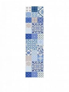 Huella deco couloir en vinyle Bleu/multicolore 100x 50cm de la marque Huella deco image 0 produit
