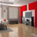 Humtool 5×0,61M Rouge Papier Peint Autocollant Rouleau Adhésif Sticker Mural Etanche pour Armoire Cuisine Meuble Electroménager Carreaux Mur Verre en PVC de la marque Humtool image 5 produit