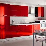 Humtool 5×0,61M Rouge Papier Peint Autocollant Rouleau Adhésif Sticker Mural Etanche pour Armoire Cuisine Meuble Electroménager Carreaux Mur Verre en PVC de la marque Humtool image 2 produit