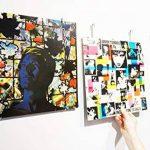 Idée cadeau déco - Cadre pour disque vinyle 33 tours - Accessoire design et original pour accrocher au mur - Décoration murale pour salon et chambre - Pour pochettes 33T de la marque Vinyl Waller image 1 produit