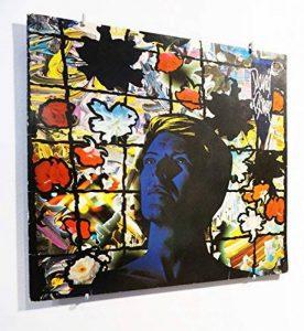 Idée cadeau déco - Cadre pour disque vinyle 33 tours - Accessoire design et original pour accrocher au mur - Décoration murale pour salon et chambre - Pour pochettes 33T de la marque Vinyl Waller image 0 produit
