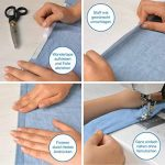 iLP Wonder-Tape rouleau de 9 m 10 mm de large - ruban adhésif textile - double face - accessoire de couture idéal pour l'artisanat professionnel DiY fixier les tissus (1 rouleau) de la marque iLP image 1 produit