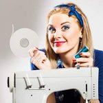 iLP Wonder-Tape rouleau de 9 m 10 mm de large - ruban adhésif textile - double face - accessoire de couture idéal pour l'artisanat professionnel DiY fixier les tissus (1 rouleau) de la marque iLP image 3 produit