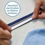 iLP Wonder-Tape rouleau de 9 m 10 mm de large - ruban adhésif textile - double face - accessoire de couture idéal pour l'artisanat professionnel DiY fixier les tissus (1 rouleau) de la marque iLP image 2 produit