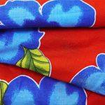 """Indianbeautifulart Opaque Pure Cotton Fabric 42"""" Wide imprimé floral Rouge Artisanat Tissu par le chantier de la marque Indianbeautifulart image 2 produit"""