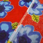 """Indianbeautifulart Opaque Pure Cotton Fabric 42"""" Wide imprimé floral Rouge Artisanat Tissu par le chantier de la marque Indianbeautifulart image 4 produit"""