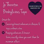 Jo ThorntonBoobylicious Lot de disques de rubans adhésifs double face de 8 cm, sécurise prothèses mammaires sur la peau - - de la marque Jo Thornton image 1 produit