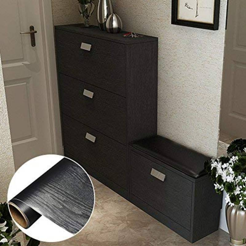 papier adh sif noir pour meuble votre comparatif pour 2019 creadhesifs. Black Bedroom Furniture Sets. Home Design Ideas