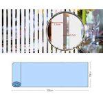 KINLO Film Vitre 90X200CM Électrostatique Protéger Intimité en PVC Film Fenêtre Autocollant Sans Colle Plus Large Sticker Fenêtre Anti-UV pour Bureau Maison Salle de Bain-Verre Dépoli Anti-regard de la marque KINLO image 4 produit
